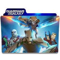 Guardians of the Galaxy (TV series) Folder Icon by JoeToronto55