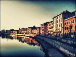 On the Arno's river by JohnnyVadala