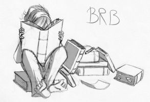 BRB, studying by OrionStorm