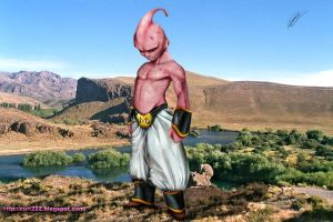 papiel Buu de Dragon Ball by curi222