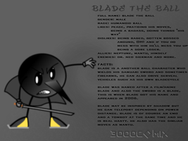 Blade reference sheet by smithandcompanytoons