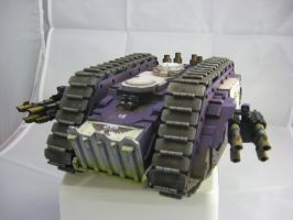 Scratchbuilt Spartan Assault Tank (painted) 1 by MrBeardyMan