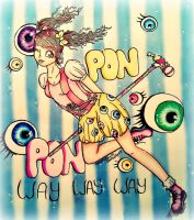 PonPonPon by CreativeCarrah