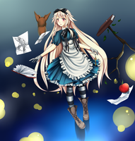 CE: Blue world of things i love by Choaru