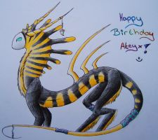 Happy Bithday Ateyx ^^ by LonlyAntelope