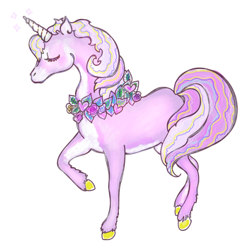 Free to use transparent Unicorn PNG by SpiffyDame
