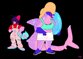 ADOPTABLES ( 2/2 OPEN ) by megadinkloid
