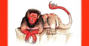 Tahmores the Manticore by Silvre