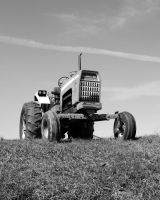 The Tractor Part 2- bw by cb-smizzle