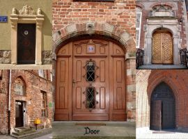 Door pack by Comacold-stock