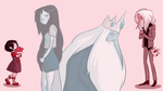 Past and Future (Marceline and the Ice King) by Ivan2294