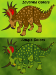 Styracosaurus the Color Shifter by DaBrandonSphere