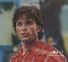 Tom Welling/Clark Kent by SteveStanleyArt