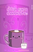 Hot chocolate notebook cover by sayuri-hime-7