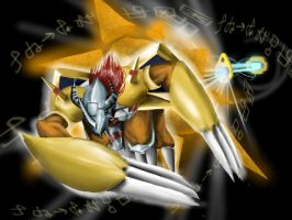 Wargreymon by looney777