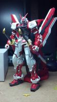MBF-P02 Astray Red Frame Kai MG by GeneralMechanics