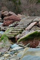 Worn steps 2 by LucieG-Stock