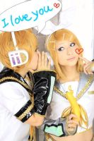 Kagamine Rin 2 by pinkberry-parfait
