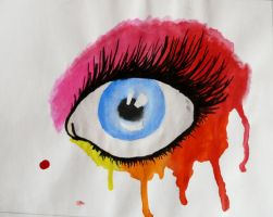 Eye Study II by death-of-roots