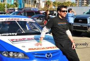Patrick Dempsey Long Beach by Caroonly