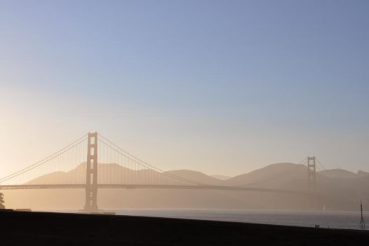 Golden Gate by StupidFrench
