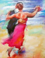 TANGO 2 in the painting by renatadomagalska