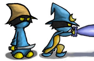 They Call Him The Black Mage by arien-the-maia