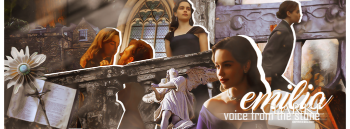 Emilia Clarke Voice From The Stone by mariebelikov