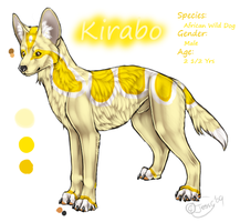 Kirabo Reference Sheet by DiamondEden