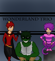 Wonderland Trio- Genderbent by Art-is-a-BANGXD