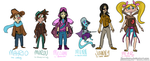 Costumes for the Group by Speedvore