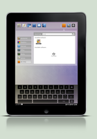 Linux tablet concept by Algalord-Gnome