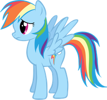 Rainbow Dash Vector by rachelhi