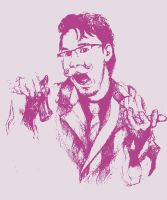 Wilford Warfstache in Pink by Iridium-and-Osmium