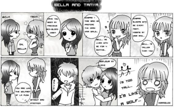 Bella and Tanya by Believe-inTwilight