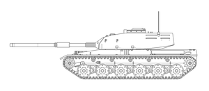 HT6 MBT WiP (Prototype) by SixthCircle