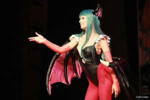 Darkstalkers : Vampire Savior - Morrigan Aensland by Zyaaa