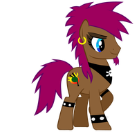 Bagpipe Brony by goth-of-whoville