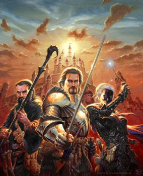 Lords of Waterdeep by RalphHorsley