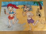 KinesAlice: A Day At The Beach by sonicmadgirl