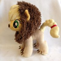 Applejack Lion Plushie - 5 season My Little Pony by Burgunzik