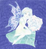 Blue Fairy by My-Anne