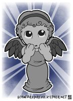 Lil' Weeping Angel by doppelgangergeisha
