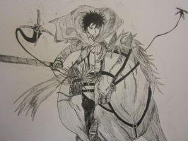 Attack on Titan - Levi by PokeYourFace