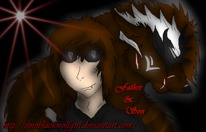 Father and son by EmoBlackwolfgirl