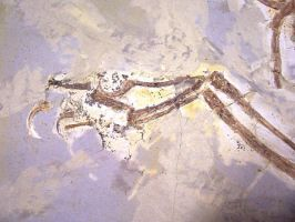 Fossil Dromaeosaur Hand by Mountaineer47