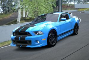 Shellby Mustang GT500 In Action by NightmareRacer85