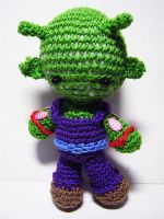 Dragonball - Piccolo Doll by Nissie