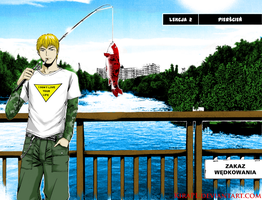 GTO: Onizuka on lake by KiRaPL