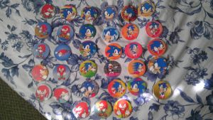 Sonic POG`s and SLAMMER`s by spaceman022